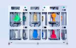 6 - 3D принтеров на одном каркасе WINBO VERTICAL 6 UNITS