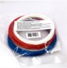 Комплект ABS-пластика ESUN 1.75 мм. для 3D ручек (красный, белый, синий)