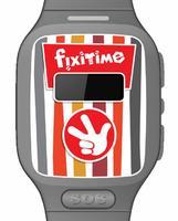 Детские часы-телефон Fixitime Smart Watch Pink