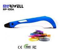 Купить со скидкой 3D Ручка Myriwell 1 RP100A Голубая