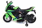 Электромотоцикл МОТО M111MM зеленый
