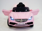 Электромобиль Mercedes O333OO розовый