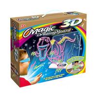 Купить со скидкой Волшебный 3D планшет для рисования  MAGIC DRAWING BOARD 3D  Динозавры