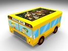 "Интерактивный стол Автобус кубик 24""Full HD 4 касания"