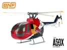 Red Bull BO-105 Blade 130X BNF Helicopter (w/o Transmitter)
