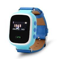 Детские умные часы Smart Baby Watch GW900S с цветным дисплеем и GPS трекером голубые
