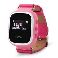 Часы с gps трекером Wonlex smart baby watch gw900s  с цветным дисплеем (розовый)