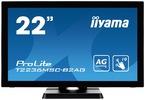 """Интерактивный 22"""" сенсорный широкоформатный монитор Iiyama T2236MSC-B2AG"""