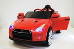 Электромобиль Nissan GTR X333XX красный