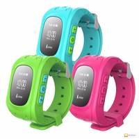 Детские умные часы smart baby watch Q50 с gps трекером Розовые