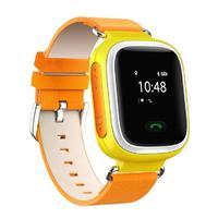 Детские часы с GPS трекером Smart Baby Watch Q60 Yellow