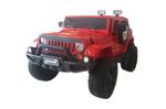 Электромобиль JEEP WRANGLER O999OO 4*4 красный
