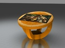 "Интерактивный стол Апельсин долька 32""Full HD 4 касания"