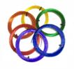 Комплект SBS пластика Tiger 3D 1.75 мм для 3D ручек, 6 цветов (TGRSBS175)