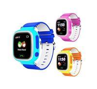 Детские умные часы Smart Baby Watch Q80 с GPS трекером Голубой