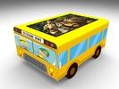 "Интерактивный стол Автобус кубик 32""Full HD 4 касания"