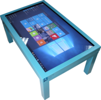 Интерактивный стол Interactive Project Touch 55 (10 касаний, диагональ 140 см)