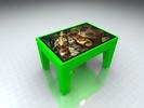 "Интерактивный стол Кубик 42""Full HD 4 касания"