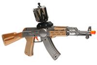 AR Game Gun AK-47 автомат дополненной реальностиАксессуары для VR/AR<br>Устройство AR Game Gun сочетает в себе технологию дополненной реальность и шутер от первого лица.Данный пистолет подарит Вашему ребёнку новый захватывающий опыт, отличный от традиционных стрелялок .<br>