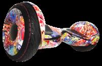 Гироскутер Smart Balance PRO PREMIUM 10.5 V2 с APP самобаланс (граффити оранжевый)Гироскутеры<br>Мини-сигвей Smart Balance Suv 10:&amp;nbsp;Max скорость: 20 км/чзапас хода: 25 кмразмер колес: 10Max вес: 25 кг - 130 кгмасса: 13,5 кг<br><br>Максимальная скорость: 20 км/ч<br>Дальность пробега на одной зарядке: 25 км<br>Размер колес: 10 дюймов<br>Вес водителя: 25-130 кг<br>Вес: 13 кг<br>Максимальный угол подъема: 15 градусов<br>Радиус разворота: 360 градусов<br>Габариты: 584х186х178 мм<br>Мощность: 2 колеса по 500 Вт