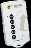 Пульт ученика системы голосования Turning ResponseCard LT (RC-LT)Системы опроса и тестирования<br>Эти пульты оптимизированы для любых презентаций и&amp;nbsp;опросов.&amp;nbsp;ResponseCard LT&amp;nbsp;обладают компактными размерами и&amp;nbsp;имеют пять кнопок для ввода ответов.&amp;nbsp;<br>