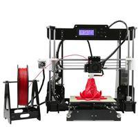 3D-принтер ANET A83D Принтеры<br>3D-принтер Anet A8 &amp;mdash; обновленная модель принтер Anet A6. Область печати составляет 220x220x240 мм. Принтер оснащен подогреваемым столом, LCD дисплеем и позволяет печатать ABS, PLA, HIPS и др. пластиками.<br><br>Расходники: ABS, PLA, HIPS, etc.<br>Страна производитель: Китай