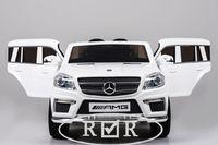 Электромобиль Mercedes-Benz GL63(LS628) белыйДетские электромобили<br>ЭЛЕКТРОМОБИЛЬ MERCEDES-BENZ GL63(LS628)&amp;nbsp;С ДИСТАНЦИОННЫМ УПРАВЛЕНИЕМ БЕЛЫЙ ЦВЕТСветовые и звуковые эффекты.Пульт управления: индивидуальный (настраивается по Bluetooh)Колеса: каучуковые низкопрофильныеСкорость: 2 скорости вперед, одна назад.Двери: открываютсяСидение: кожаноеUSB, SD-входРазмер собранной модели: 126*66*52 см, вес: 21кг, макс. нагрузка: 30кгАккумулятор: 12V/7AhРедуктор: 12v*2<br><br>Марка: MERCEDES-BENZ<br>Модель: GL63(LS628)<br>Сиденье: Кожаное<br>Колёса: Каучуковые низкопрофильные<br>Кол-во мест: 2<br>Цвет: Белый