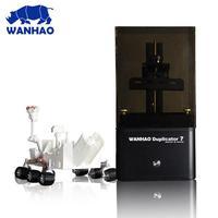 3D принтер Wanhao Duplicator 7 (D7)  Duplicator D7 v1.43D Принтеры<br>Технология печати:&amp;nbsp;&amp;nbsp; UV resin(Фотополимерные смолы), &amp;nbsp;DLP 3D printerМаксимальная скорость печати:&amp;nbsp; 30мм/часМаксимальная область печати:&amp;nbsp;&amp;nbsp;&amp;nbsp; 120*68*200мм(L*W*H)Тип смолы: 405nm uv resinПрограммное обеспечение:&amp;nbsp;&amp;nbsp; Creation WorkshopТочность:&amp;nbsp;&amp;nbsp; 0.004ммТолщина слоя: 0.035-0.5мм<br><br>Область построения (мм): 120х68х200<br>Толщина слоя: 40 микрон<br>Расходники: Фотополимер<br>Гарантия: 1 год<br>Страна производитель: Китай