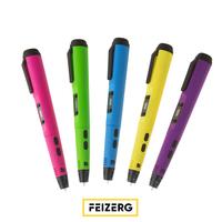 3D ручка Feizerg F001 фиолетовая3D Ручки<br>Вес устройства: 55 гДлина ручки: 180 ммМатериал корпуса: soft-touchДисплей: LCDДиаметр сопла: 0.7 ммДиаметр нити: 1.75 ммРабочий материал: ABS, PLAАвтоматическая подача пластикаКоличество скоростей подачи пластика: 8<br><br>Размер: 18x2.8xx2.2см<br>Дисплей: LCD<br>Диаметр нити: 1,75 мм<br>Толщина нити: 1,75 мм<br>Расходники: ABS, PLA<br>Гарантия: 1 год<br>Макс. температура печати: 70 - 230 С<br>Вес: 0,05кг<br>Вес (в упаковке): 0,5кг<br>Материал: Soft touch
