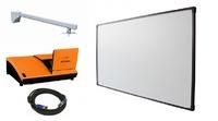 Интерактивный комплект YesVision 80 КомфортИнтерактивные комплекты<br>В комплекте:Интерактивная доска&amp;nbsp;YesVision BS80;Ультракороткофокусный проектор Hitachi ED-A110;Крепление для проектора Wize WTH130 (штанга 200-1300 мм) настенноеКабель CS VGA 15-pin (M) to (M), 15 метров Classic Solution;Переходник из HDMI в VGA;<br>