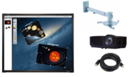 Интерактивный комплект ActivBoard Комфорт 88Интерактивные комплекты<br>В комплекте ActivBoard Комфорт 88:Интерактивная доска&amp;nbsp;88 ActivBoard Touch Dry Erase 6Мультимедийный проектор InFocus IN126STaКрепление для проектора Reflecta Vesta 120RA (штанга 800-1200 мм) настенноеКабель CC-HDMI-10M, 19M/19M, 10м, черный.Кабель CC-HDMI-10M удобен для подключения ряда электронных и интерактивных устройств:компьютерных мониторов,видеопроекторов и интерактивных проекторов,плазменных панелей, а также любых других устройств с интерфейсом HDMI.Длина кабеля 10 метров обеспечивает дополнительное удобство использования вы сможете без проблем подключить друг к другу два устройства, размещенных стационарно на достаточном удалении или даже в разных помещениях.Позолоченные разъемы,экран,армирующая сетка.<br>