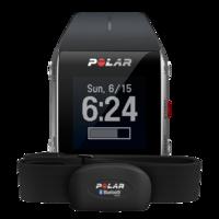 Часы Polar V800 Black HRУмные часы и браслеты<br>&amp;nbsp;Polar V800 Black HR:Пыле-влагозащита:&amp;nbsp;защита от брызгМатериал ремешка/браслета:&amp;nbsp;полиуретанМатериал корпуса:&amp;nbsp;алюминий, нержавеющая сталь, пластик, поликарбонатЗарядка от USB: ДаЕмкость аккумулятора:&amp;nbsp;350 мАчВремя работы при активном использовании:&amp;nbsp;13 чВремя работы при нормальном использовании:&amp;nbsp;50 чВремя работы в режиме ожидания:&amp;nbsp;30 днейСовместимость:&amp;nbsp;iOSПроводные интерфейсы:&amp;nbsp;USBБеспроводные интерфейсы:&amp;nbsp;BluetoothВибрация:&amp;nbsp;ДаОтслеживание фазы сна: ДаСенсорное управление: ДаРазрешение дисплея:&amp;nbsp;128 x 128<br><br>Материал корпуса: алюминий, нержавеющая сталь, пластик, поликарбонат<br>Зарядка от USB: Да<br>Емкость аккумулятора: 350 мАч<br>Встроенный микрофон: Нет<br>Дисплей: есть<br>Разрешение дисплея: 128 x 128<br>Совместимость: iOS<br>Время работы в режиме ожидания: 30 дней<br>Встроенные устройства: GPS, барометр, будильник, высотомер, пульсометр, счетчик калорий, таймер, термометр, шагомер<br>Сенсорное управление: Да<br>Отслеживание фазы сна: Да<br>Вибрация: Да<br>Беспроводные интерфейсы: Bluetooth<br>Проводные интерфейсы: USB<br>Время работы при нормальном использовании: 50 ч<br>Время работы при активном использовании: 13 ч<br>Материал ремешка/браслета: полиуретан<br>Пыле-влагозащита: защита от брызг