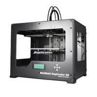 3D Принтер WANHAO Duplicator 4S Iron Man3D Принтеры<br>3D принтер WANHAO&amp;nbsp;Duplicator 4S Iron ManОбласть печати: 22.5 &amp;times; 15 &amp;times; 14.5&amp;nbsp;Толщина слоя: 100 микронКол-во головок: 2Расходники: ABS, PLAСкорость печати: 40 мм/секОбъем печати:&amp;nbsp;4.8 лСкорость печати:&amp;nbsp;40 мм/секЭлектропитание:&amp;nbsp;220 В, 50-60 Гц<br><br>Платформа: с подогревом<br>Операционная система: Win/Mac/Linux<br>Вес: 23 кг<br>Интерфейсы: USB, SD<br>Размеры (ДхШхГ): 46,6x32x38,2 см<br>Кол-во головок: 2<br>Толщина слоя: 100 микрон<br>Страна производитель: Китай<br>Расходники: ABS/PVA<br>Толщина нити: 1,75 мм<br>Вес (в упаковке): 26 кг<br>Гарантия: 12 месяцев<br>Технология печати: FDM<br>Диаметр сопла (мм): 0,4<br>Область построения (мм): 225x150x145<br>Программное обеспечение: Replicator G<br>Поддерживаемые форматы файлов: STL, G-CODE<br>Электропитание: 220 В, 50-60 Гц<br>Скорость печати: 40 мм/сек<br>Температура экструдера: 260 С<br>Объем печати: 4.8 л<br>Точность позиционирования: ось Z – 5 микрон, оси XY – 20 микрон<br>Область печати: 466x320x382<br>Формат файлов: stl, Gcode