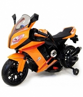 Электромотоцикл МОТО M111MM оранжевыйДетские электромобили<br>MOTO M111M ОРАНЖЕВЫЙ ЦВЕТСветовые и звуковые эффекты.Пульт управления: нетКолеса: каучуковые низкопрофильныеСиденье: пластикСкорость: До 4км/чРазмер собранного изделия: 99*41*65см;&amp;nbsp;вес: 9,5кг;&amp;nbsp;макс. нагрузка: 25 кгАккумулятор: 6V/4.5А*2Редуктор: 15W*9<br><br>Марка: МОТО<br>Модель: M111MM<br>Сиденье: Пластик<br>Колёса: Каучуковые низкопрофильные<br>Кол-во мест: 1<br>Цвет: Оранжевый
