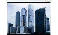 Экран настенный Lumien Eco Picture LEP-100105 (1:1) 160x160 (160х160, MWНастенные экраны<br>Преимуществаэкономичность, компактность, классический дизайнпростой и легкий монтаж на стену или потолок для универсального использованиянижняя планка обеспечивает идеально ровное натяжения полотнаотсутствие швов на проекционной поверхности на всех размерах моделипружинный механизм позволяет фиксировать полотно на любой высоте и препятствует самораскрытию экрана<br><br>Тип : Настенный<br>Способ проецирования: Прямая проекция<br>Формат: 1:1<br>Тип покрытия : Белое матовое
