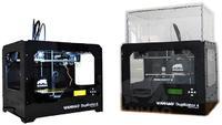 3D Принтер WANHAO Duplicator 4x 2ПГ Пластиковый корпус3D Принтеры<br>3D Принтер WANHAO Duplicator 4x 2ПГ: Кол-во головок: 2 Область&amp;nbsp;печати:&amp;nbsp;22.5 x 14.5 x 15&amp;nbsp;см (4.9 литра) Расходники:&amp;nbsp;ABS и PLA - 1.75 мм Толщина слоя: 100 микрон&amp;nbsp;Диаметр сопла: 0.4 мм Скорость:&amp;nbsp;40 мм/сек&amp;nbsp;ЖК-дисплей:&amp;nbsp;4x20 символов и Control Pad Подогреваемая платформа: 110-120&amp;nbsp;&amp;deg;C Поддерживаемая ОС: Win/Mac/Linux Программное обеспечение:&amp;nbsp;ReplicatorG&amp;trade; Формат файлов:&amp;nbsp;STL, G-code Энергопотребление:&amp;nbsp;220-250V, 50/60Hz, 4.0A (вход)&amp;nbsp;Вес, кг: пластиковый 13 / стальной 25&amp;nbsp;Габариты, см:&amp;nbsp;32 x 46.6 x 38.2&amp;nbsp;Гарантия: 1 год: 0.4 мм<br><br>Толщина слоя: 100 микрон<br>Расходники: ABS, PLA<br>Страна производитель: Китай<br>Диаметр сопла (мм): 0.4 мм