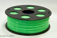PLA пластик Bestfilament 1.75 мм для 3D-принтеров, 1 кг салатовыйПластик для 3D Принтера<br>PLA пластик Bestfilament 1.75 мм для 3D-принтеров, 1 кг салатовый:Страна производства:&amp;nbsp;РоссияВид намотки:&amp;nbsp;КатушкаПроизводитель:&amp;nbsp;BestfilamentДиаметр нити: 1,75 ммТип пластика: PLAВес:&amp;nbsp;1.2 кг<br><br>Цвет: Салатовый<br>Тип пластика: PLA<br>Диаметр нити: 1,75 мм<br>Вес: 1.2 кг<br>Производитель: Bestfilament<br>Вид намотки: Катушка<br>Страна производства: Россия