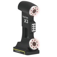 3D сканер Shining 3D FreeScan X33D Сканеры<br>&amp;nbsp; &amp;nbsp;3D сканер Shining 3D FreeScan X3:Глубина сканирования (мм): 250Площадь сканирования:&amp;nbsp;230x250 ммСкорость сканирования:&amp;nbsp;240000 точек в секРасстояние до объекта: 300 ммВес, кг: 0.8Размеры:&amp;nbsp;135x80x300 ммТочность:&amp;nbsp;0.03 мм максТип сканера: РучнойТехнология сканера: бесконтактныйРазмер сканируемого объекта:&amp;nbsp;0.1 - 6 мИнтерфейс:&amp;nbsp;USB 3.0<br><br>Страна производитель: Китай<br>Интерфейс: USB 3.0<br>Размер сканируемого объекта: 0.1 - 6 м<br>Технология сканера: бесконтактный<br>Тип сканера: ручной<br>Точность: 0.03 мм<br>Размеры (мм): 135x80x300<br>Вес, кг: 0.8<br>Расстояние до объекта: 300 мм<br>Скорость сканирования: 240000 точек<br>Площадь сканирования: 230x250 мм<br>Глубина сканирования (мм): 250
