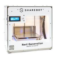 3D принтер ShareBot Dual3D Принтеры<br>3D принтер ShareBot DualОбласть печати: 25 &amp;times; 20 &amp;times; 20Толщина слоя: 50 микронКол-во головок: 2Расходники: ABS, PLA, PVA, НейлонСкорость печати: 200 мм/секОбъем печати:&amp;nbsp;10 лПоддерживаемые форматы файлов:&amp;nbsp;.STLПрограммное обеспечение:&amp;nbsp;ReplicatorG&amp;trade;<br><br>Кол-во экструдеров: 2<br>Область построения (мм): 250х200х200<br>Толщина слоя: 50 микрон<br>Толщина нити: 1,75 мм<br>Расходники: ABS, PLA, PVA, Нейлон<br>Платформа: с подогревом<br>Гарантия: 1 год<br>Страна производитель: Италия