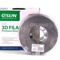 Катушка ABS-пластика Esun 1.75 мм 1кг., серебристая (ABS175S1)Пластик для 3D Принтера<br>Катушка ABS-пластика ESUN 1.75 мм 1кг., серебристая (ABS175S1):Рекомендуемая температура подогрева площадки:&amp;nbsp;95 - 110Страна производства: КитайСовместимость:&amp;nbsp;Любые FDM 3D принтеры с подогреваемой платформойВысота катушки:&amp;nbsp;68 ммПосадочный диаметр катушки:&amp;nbsp;55 ммВнешний диаметр катушки:&amp;nbsp;200 ммВид намотки:&amp;nbsp;Катушка<br><br>Цвет: Серебристая<br>Тип пластика: ABS<br>Диаметр нити: 1,75 мм<br>Температура плавления: 220 - 260<br>Вес: 1.2 кг<br>Производитель: Esun<br>Рекомендуемая скорость печати: 10<br>Вид намотки: Катушка<br>Внешний диаметр катушки: 200 мм<br>Посадочный диаметр катушки: 55 мм<br>Высота катушки: 68 мм<br>Вид упаковки: Картонная коробка, герметичный пакет с селикагелем<br>Совместимость: Любые FDM 3D принтеры с подогреваемой платформой<br>Страна производства: Китай<br>Рекомендуемая температура подогрева площадки: 95 - 110