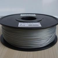 Катушка PLA-пластика Esun 1.75 мм 1кг., серебристая (PLA175S1)Пластик для 3D Принтера<br>Катушка PLA-пластика Esun 1.75 мм 1кг., серебристая (PLA175S1):Страна производства:&amp;nbsp;КитайСовместимость:&amp;nbsp;Любые FDM 3D принтерыВысота катушки:&amp;nbsp;68 ммПосадочный диаметр катушки:&amp;nbsp;55 ммТемпература плавления:&amp;nbsp;190 - 220<br><br>Цвет: Серебристая<br>Тип пластика: PLA<br>Диаметр нити: 1,75 мм<br>Температура плавления: 190 - 220<br>Вес: 1.2 кг<br>Производитель: Esun<br>Рекомендуемая скорость печати: 10<br>Вид намотки: Катушка<br>Посадочный диаметр катушки: 55 мм<br>Высота катушки: 68 мм<br>Вид упаковки: Картонная коробка, герметичный пакет с селикагелем<br>Страна производства: Китай<br>Рекомендуемая температура подогрева площадки: Любые FDM 3D принтеры