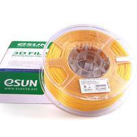 Катушка PLA-пластика Esun 1.75 мм 1кг., золотистая (PLA175JN1)Пластик для 3D Принтера<br>Катушка PLA-пластика ESUN 1.75 мм 1кг., золотистая (PLA175JN1):Страна производства:&amp;nbsp;КитайВид намотки:&amp;nbsp;КатушкаПроизводитель:&amp;nbsp;EsunТемпература плавления:&amp;nbsp;190 - 220Диаметр нити:&amp;nbsp;1,75 ммТип пластика:&amp;nbsp;PLAЦвет:&amp;nbsp;Натурально-белый<br><br>Цвет: Натурально-белый<br>Тип пластика: PLA<br>Диаметр нити: 1,75 мм<br>Температура плавления: 190 - 220<br>Вес: 1.2 кг<br>Производитель: Esun<br>Вид намотки: Катушка<br>Страна производства: Китай