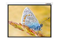Экран с электроприводом Lumien Master Control LMC-100112 (4:3) 406x305 (398х297, MW)Экраны с электроприводом <br>Преимуществапри сворачивании полотна нижняя планка полностью скрывается в корпусавтоматическая остановка полотна при сворачивании и разворачивании увеличивает срок службы и повышает удобство использованияв экранах шириной до 3 метров используется бесшумный синхронизированный мотор с плавным стартомв экранах шириной более 3 метров используется долговечный турбулентный моторэкраны формата 16:9 имеют сверху дополнительную черную полосу шириной 35-61 см в зависимости от размеров модели для достижения идеальной высоты просмотраэкраны шириной более 3 метров оснащены металлическими заглушками по бокам, для повышения надежности и долговечностичерная кайма по периметру для улучшения восприятия яркости изображениякорпус квадратного сечения имеет по всей длине внутренний выступ, предотвращающий полотно от произвольного развертыванияпереключатель, входящий в базовую комплектацию, легко заменяется на беспроводное устройство (инфракрасное или радиочастотное)пульт управления позволяет останавливать полотно на любой высоте, меняя формат изображения, поставляется опционально<br><br>Тип : Настенный<br>Способ проецирования: Прямая проекция<br>фориат: 4:3<br>тип покрытия: белое матовое