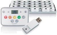 Система голосования Mimio Vote 32 пользователяСистемы опроса и тестирования<br>Возможности MimioVote:Отслеживайте успеваемость с помощью обратной связи и статистических сведений.Загружайте оценки учеников в электронные таблицы и планы урока, чтобы вести учет оценок.Вставляйте пульты в лоток для хранения в произвольном порядке для автоматической перенумерации.Обеспечьте точность ответов благодаря подсветке соответствующих кнопок.Выбирайте тестирование под руководством преподавателя или в произвольном темпе.Используйте отличные тесты для всех классов.С легкостью импортируйте стандартные тесты и издательский контент.Воспользуйтесь преимуществом совместимости системы с Microsoft PowerPoint.Забудьте о замене батареек навсегда!Система голосования MimioVote<br>