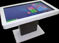 Интерактивный стол Interactive Project Touch 50 (40 касаний, диагональ 119 см)Интерактивные столы <br>Развивающее программное обеспечение установленное на интерактивном столе:1. Набор из 288 развивающих игр и интерактивных заданий, для обучения 3-5 -летнего ребёнка счёту и чтению, тренировки внимания, памяти и развитию логического мышления.В комплект включены игры, пазлы и раскраски, знакомящие детей с окружающим миром, а также интерактивные пособия по русскому языку и арифметике: Знакомство с буквами, чтение односложных слов, двусложных слов, сборка слова из слогов, рисовалка, перемена, семи цветик, где что, кто за забором, разложи по порядку, кроха и машины, сделай сам, направления, пошуми, не такой, половинки, цвета, сложи сам, на кого похож, циферки, что длиннее, что выше, что шире, угадай кто это, разложи, подели, азбука, где эта буква, что потерялось, наряди елку, на что это похоже, кто кому позвонил, третий лишний, похожи, нарисуй картину, собери игрушки, повтори узор, чьи это половинки, дорога к дому, покажи.Упражнения: Сложение чисел, вычитание чисел, состав числа, сравнение групп объектов, сравнение чисел и т.д. Все управление заданиями сводится к простым и всем знакомым движениям пальца или стилуса по экрану, точно как на любом планшете или ином сенсорном устройстве.2. Интерактивный тренажёр Правила дорожного движения для дошкольников включает набор из 25 игр-заданий для знакомства ребёнка с правилами дорожного движения и основными знаками, его регулирующими.Программа снабжена интуитивно понятным интерфейсом. Дополняющие программу плакаты позволяют наглядно объяснить или напомнить ребёнку перед занятиями рассматриваемый материал.Программное обеспечение Правила дорожного движения для детей включает в себя следующие задания: Выдели, подели на группы, не то, кто из них, что лишнее, верно не верно, обойди, хороший плохой, светофор, пешеход, командир улицы, собери сам, раскрась правильно, что это, дорога к дому, сможешь узнать, парочки, это так, выбери ответ, 