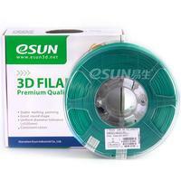 Катушка ABS-пластика Esun 1.75 мм 1кг., зеленая (ABS175G1)Пластик для 3D Принтера<br>Катушка ABS-пластика ESUN 1.75 мм 1кг., зеленая (ABS175G1):Рекомендуемая температура подогрева площадки:&amp;nbsp;95 - 110Страна производства: КитайСовместимость:&amp;nbsp;Любые FDM 3D принтеры с подогреваемой платформойВысота катушки:&amp;nbsp;68 ммПосадочный диаметр катушки:&amp;nbsp;55 ммВнешний диаметр катушки:&amp;nbsp;200 ммВид намотки:&amp;nbsp;Катушка<br><br>Цвет: Зеленый<br>Тип пластика: ABS (АБС)<br>Диаметр нити: 1,75 мм<br>Температура плавления: 220 - 260<br>Вес: 1.2 кг<br>Производитель: Esun<br>Рекомендуемая скорость печати: 10<br>Вид намотки: Катушка<br>Внешний диаметр катушки: 200 мм<br>Посадочный диаметр катушки: 55 мм<br>Высота катушки: 68 мм<br>Вид упаковки: Картонная коробка, герметичный пакет с селикагелем<br>Совместимость: Любые FDM 3D принтеры с подогреваемой платформой<br>Страна производства: Китай<br>Рекомендуемая температура подогрева площадки: 95 - 110