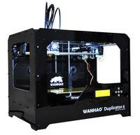 3D Принтер WANHAO Duplicator 4 2ПГ Черный3D Принтеры<br>3D Принтер WANHAO Duplicator 4 2ПГ: Кол-во головок: 1 / 2 Область&amp;nbsp;печати: 22.5 x 14.5 x 15&amp;nbsp;см (4.9 литра) Расходники:&amp;nbsp;ABS и PLA - 1.75 мм Толщина слоя: 100 микрон Диаметр сопла: 0.4 мм Скорость:&amp;nbsp;40 мм/сек ЖК-дисплей:&amp;nbsp;4x20 символов и Control Pad Подогреваемая платформа: 110-120&amp;nbsp;&amp;deg;C Поддерживаемая ОС: Win/Mac/Linux Программное обеспечение:&amp;nbsp;ReplicatorG&amp;trade; Формат файлов:&amp;nbsp;STL, G-code Энергопотребление:&amp;nbsp;220-250V, 50/60Hz, 4.0A (вход)&amp;nbsp;Вес, кг: 13&amp;nbsp;Габариты, см:&amp;nbsp;32 x 46.6 x 38.2&amp;nbsp;Гарантия: 1 год<br><br>Толщина слоя: 100 микрон<br>Расходники: ABS, PLA<br>Платформа: с подогревом<br>Страна производитель: Китай<br>Диаметр сопла (мм): 0.4 мм