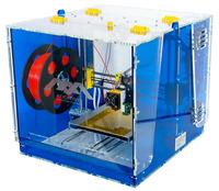 3D принтер Альфа3D Принтеры<br>Габаритные размеры 3D-принтера 430х400х400 ммВес 9 кгТип корпуса закрытыйМатериал корпуса акрилОбласть печати 190х190х130 ммТип стола нагреваемыйКоличество экструдеров 1 шт.Диаметр сопла экструдера 0,35 ммСкорость печати 50 мм/сМинимальная толщина слоя 0,03 ммМаксимальная толщина слоя 0,3 ммТочность позиционирования X/Y 4 микронаТочность позиционирования Z 10 микронДисплей графический LCDКартридер Встроенный SDВозможность автономной работы естьТехнология печати FDMАвто калибровка рабочей поверхности есть, по 9-и точкам (не требует ручнойкалибровки перед началом печати)<br><br>Кол-во экструдеров: 1<br>Область построения (мм): 190х190х130<br>Толщина слоя: 30 микрон<br>Толщина нити: 1,75 мм<br>Расходники: ABS, PLA<br>Платформа: с подогревом<br>Гарантия: 1 год<br>Страна производитель: Россия<br>Диаметр сопла (мм): 0,35