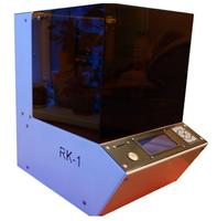 3d Принтер RK-13D Принтеры<br>Назначение: ПерсональныйСтрана: РоссияПроизводитель: RK-3DТЕХНИЧЕСКИЕ ХАРАКТЕРИСТИКИТехнология печати: Cтереолитография (SLA)Область печати 150х150х175 ммКоличество экструдеров 1Подогреваемая платформа НетДисплей LCDТехнология печати SLAМатериалы для печати ФотополимерыИнтерфейс подключения USB, SDОбласть построения, мм: 150х160х130Толщина слоя (мм): 0,015-0,2Интерфейсы: Card ReaderДисплей: ДаРазрешение в X и Y осях (мкм): 10РАСХОДНЫЕ МАТЕРИАЛЫТипы материалов: ФотополимерМатериалы: фотополимер, Фотополимерная смолаПРОГРАММНОЕ ОБЕСПЕЧЕНИЕRKsliseГАБАРИТЫРазмеры (мм): 320х360х420Вес (кг) :16Основные преимущества нового принтера RK-1Высокое разрешение в пределах всего рабочего поля;Надежность и стабильность работы;Полностью автономная работа при минимальном потреблении питания;Возможность настройки всех параметров печати;Полноценный сервис и консультации пользователей в России;Высокая точность печати;Высочайшее качество печати;Все детали изготовлены на современных станках ЧПУ (фрезерных, токарных, лазерных, гибочных);Главные отличия от иностранных и отечественных аналогов:- уникальный способ построения изображения слоя, основан на развёртке лазерного луча;- фиксированная и известная длина волны лазерного источника;- высокая надежность всех узлов за счет разработки качественной конструкции и материалов;- доступность всех деталей и запчастей по приемлемой цене;- отсутствие в принтере элементов низкого качества;- высокая точность печати и детализация;<br>