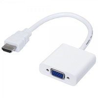 Переходник из HDMI в VGAКабели и переходники<br>Переходник питается от HDMI и не требует дополнительного питания.<br>